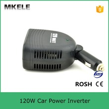Professional Manufacturer Mini Size 120w 110vac Car Power Converter 12v Power Inverter for Car Battery