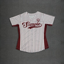 Custom Made Real USA Size 3D Sublimation Print Create your own design Buttons up baseball jersey plus size