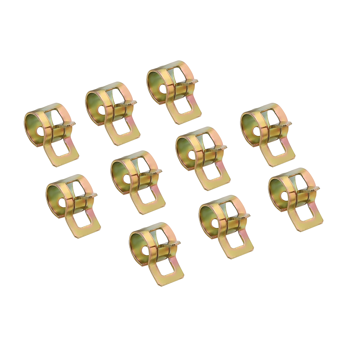 New Arrival 60Pcs Car Spring Clip Fuel Oil Water Hose Pipe Tube Clamp Fastener 6-15mm Car Styling Replacement Clips