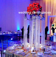 new comming acrylic crystal wedding pillars columns for aisle decoration