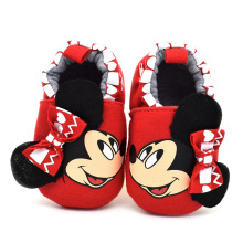 Soft Soled Indoor Room Baby First Walkers Shoes Cartoon Animation Pattern Baby Shoes Size 0-18 Months Keep Warm Infant Shoes