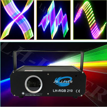 SD Card RGB laser light Animation Laser Bar Light 3D changeable light for nightclub Christmas Wedding
