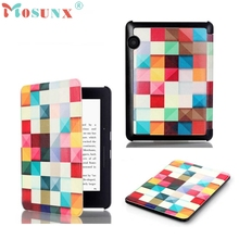 Beautiful Gift New Magic Cubes Stand Folio Flip Leather Case Cover for Amazon Kindle Voyage 6.0 Inch Drop Shipping May11(China)