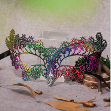 1PC Beautiful Lace Elegant Party Masks Halloween Venice Half Face Flower Mask Fancy Ball Party Princess Masquerade Masks P15(China)
