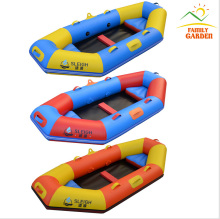 2 Person Inflatable Fishing Boat Kayak Raft Canoe Set Cheap Sea Lake River