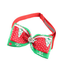 2pcs Pet Bow Tie Adjustable Dog Christmas decorations Cat Puppy Christmas Bow Ties Pet Grooming Supplies Accessories PT1257 #814