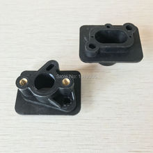 2pcs 40-5 43CC 52CC brush cutter intake manifold carburetor base connector,admitting pipe,carb adaptor
