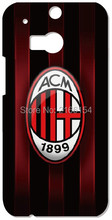 Retail AC Milan Logo Cover For HTC one X M7 M8 M9 For Samsung Galaxy E5 E7 S3 S4 S5 Mini S6 S7 Edge Plus Note 3 4 5 Phone Case(China)
