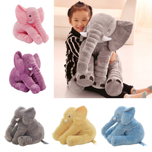 1pc 60cm Fashion Baby Animal plush Elephant Style Doll Stuffed Elephant Plush Pillow Kids Toy Children Room Bed Decoration Toys