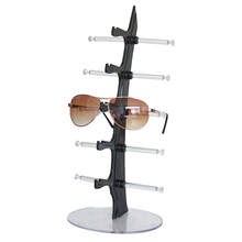 5 Pairs Glasses Sun Glasses Display Shelf Sunglasses Plastic Frame Removable Counter Shop Display Show Stand Holder Rack FG(China)