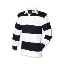 2017 Long Sleeves Interval Stripes Mens Rugby Jerseys Customized Training Rugby Jersey Shirts For Rugby Ball Match Team Wear
