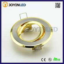 Cheaper Golden Color Recessed Led Ceiling Fittings Led Spotlight Gu10 Mr16 Fixture Fame Trims