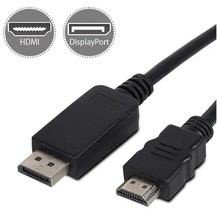 Quality Displayport-DP to HDMI cable 5M 3M 1.8M Dp male to HDMI male for HP Lenovo Dell Asus laptop computer
