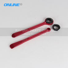 Motorcycle Tyre Iron Set Changing Tool Kit Raceline Levers Hex Wrench Spanner Head 10MM 13MM 22MM 27MM 32MM For Japananese Bike