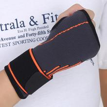 Adjustable Wrist Support Wraps Outdoor Sports Tennis Badminton Handguard Wrist Band Gym Fitness Wrist Support Palm Protector(China)