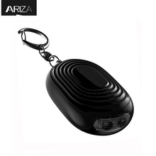 Buy Ariza mini self defense personal alarm keychain emergency panic alarm wolf LED light women/elderly car key chain for $4.11 in AliExpress store