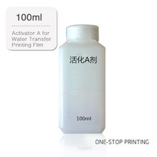 100ml Activator A For Hydrographic Activator Water Transfer Printing Film Activator decorative material free shipping quality