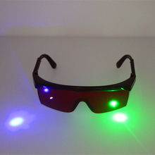 532nm Green 405nm purple blue Laser Safety Glasses 400nm-540nm Laser beauty instrument protective eyewear Eye Protection Goggles(China)