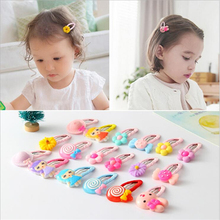 Fashion BB Hair Clips Baby Headband Girl Boutique Bow Gift Hair Accessories Children Hairpins Solid Flower Barrettes Bobby Pin