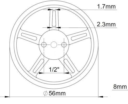 Feetech-FS90R-servo-wheel-7