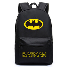 Brand Batman Backpack Super Hero Bags For Boys Girls School Backpacks Kids Best Gift School Bag Children Backpack