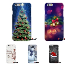 For Huawei G7 G8 P8 P9 Lite Honor 5X 5C 6X Mate 7 8 9 Y3 Y5 Y6 II Merry Christmas Gifts Santa Claus Snowman Silicone Case