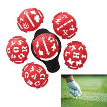 Golf Ball Line 36 pattern Multi-Template Drawing Alignment Marks Putting Tool Golf Club Equipment Accessories