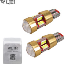 WLJH Universal Canbus Car LED Lamp Bulb W5W T10 3014SMD Interior External Light Volkswagen Bmw Audi Mercedes Benz - official store