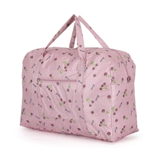 New Fashion Women's Travel Bags Luggage Handbag Floral Print Women Travel Tote Bags Large Capacity(China)