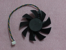 POWER LOGIC PLA08015S12HH 75mm Graphics / Video Card VGA Cooler Fan Replacement 47mm 12V 0.35A 4Wire 4Pin Connector
