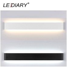 LEDIARY Dec Wall Lamp 24/41/61/72/91/111cm Long LED Mirror Lamp for Restroom/Bathroom/Bedroom/Living Room Wall Lights 85-265V AC(China)