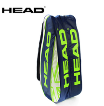 New Head Tennis Bag Portable Racket Tennis Bag Badminton Bag Sport Accessory Tennis Racket Bag Tenis For 6 Racket Large Capacity(China)