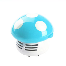 Mini Mushroom Corner Desk Table Car laptops keyboard Dust Vacuum Cleaner Sweeper