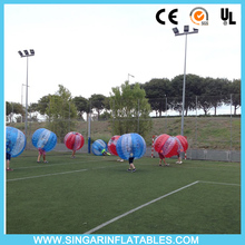 Free shipping 0.7mm TPU 1.8m diameter bubble ball,bounce ball,bubble football,zorbit for big heavy players