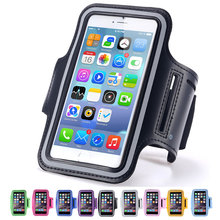 Sports Running Waterproof Armband Phone Pouch Bag Case for iPhone 6 s 6S Brassard Sport Arm Band Mobile Phone Holder on Hand
