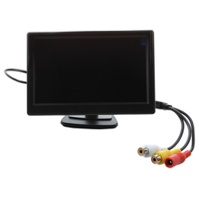 "5"" Digital Car Reverse Rearview Video Monitor Rearview Camera LCD Color Screen"
