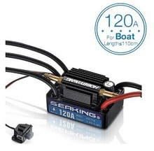 Hobbywing Boat ESC Seaking-120A-V3 Watercooling low-voltage cutoff protection Boat length <110CM For Competition Or Fun