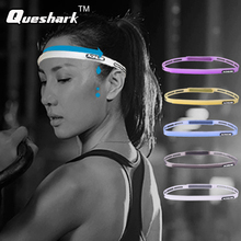 Yoga Fitness Sweatband Outdoor Sports Silicone Sweat Guiding Belt Sweat Head Band Gym Crossfit Running Headband Cycling Headwear