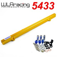 WLR STORE- NEW SARD STYLE FUEL RIAL FOR TOYOTA SUPRA ARISTO 2JZ TURBO JZA80 UPGRADE 92- 02 RACING FUEL RAIL KIT