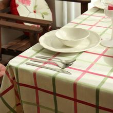 100% Cotton Table Cloth Plaid lattices Flower Print Multifunctional Tablecloths Table Cover High Quality ZB-18(China)