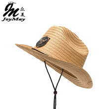 JOYAMY New Arrival Paper Cowboy Hat KIDS CHILDREN Jazz Formal Hat Summer Sun Hat Beach HATS C007