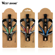 WEST BIKING Bike Ultra Light Aluminum Alloy MTB Road Bicycle Bottle Holder Bike Mountain Cycling Fixed Gear Water Bottle Cage(China)
