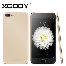 Xgody Smartphone 5.5 Inch Quad Core 1GB RAM+16GB ROM With 1280x720 8MP Camera Android Telefone Celular 3G Unlocked Cell Phones(China)