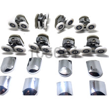 \Zinc Alloy Shower Door Rollers/Runners/Wheels 25mm wheel CY-920AB-Zn a set of 8pcs