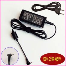 19V 2.1A Laptop Ac Adapter Power SUPPLY + Cord for ASUS Eee PC Seashell 1215 1215N 1215T 1215P 1016P 1215B 1101HA-MU1X 1101HGO
