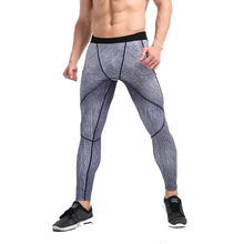 Summer Men' Tactical Pants Fitness Print Quick Dry Pant Elastic Gymming Men Leggings Sweatpants Perfume Masculino