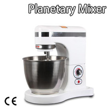 Free shipping 5L or 7L 220V COMMERCIAL High Quality Standfloor Cream Mixer Planetary Mixer Food Mixer(China)
