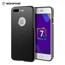 For iPhone 7 Plus Case Shockproof Ultra Thin Hybrid Alluminum Metal TPU Case for iPhone 7 Plus(China)