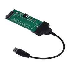 Top Quality SATA Adapter USB 3.0 Cable For ASUS EP121 UX21 UX31 SANDISK ADATA XM11 SSD 2.5