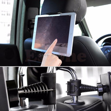 360 Degree Car Back Seat Headrest Mount Holder for iPad mini/1/2/3/4/Air Galaxy Tablet #R179T# Drop shipping(China)